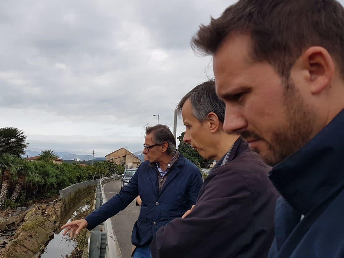 Maltempo Liguria sopralluoghi ad Albenga 21 ottobre 2019 18