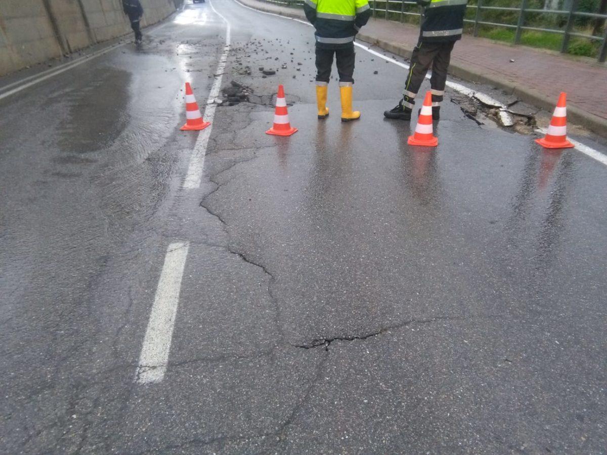 Maltempo danneggia Strada Verzi a Loano 02