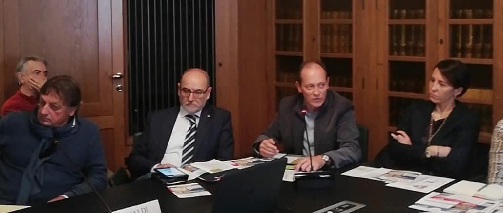 Mauro Demichelis a presentazione Olioliva 2019