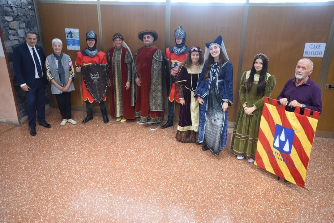 Medioevo a Zuccarello Alberghiero di Alassio 03