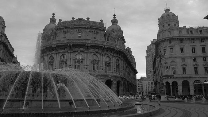 Palazzo della Borsa a Genova