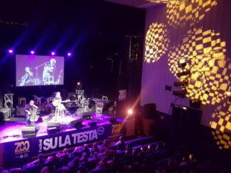 Palco Festival Su la Testa ad Albenga