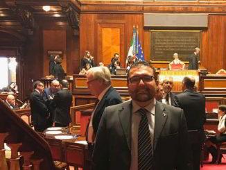 Paolo Ripamonti in Senato