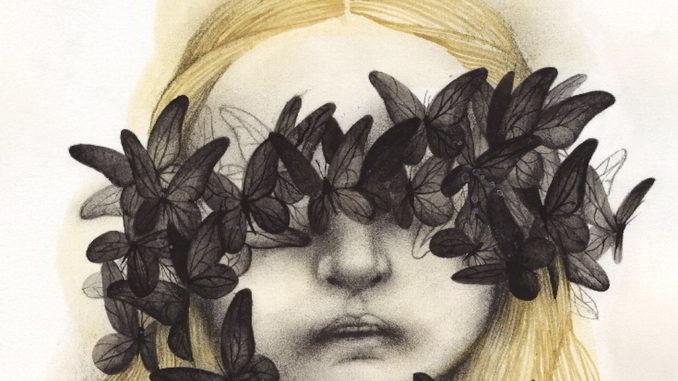 Particolare di una opera di Ana Juan