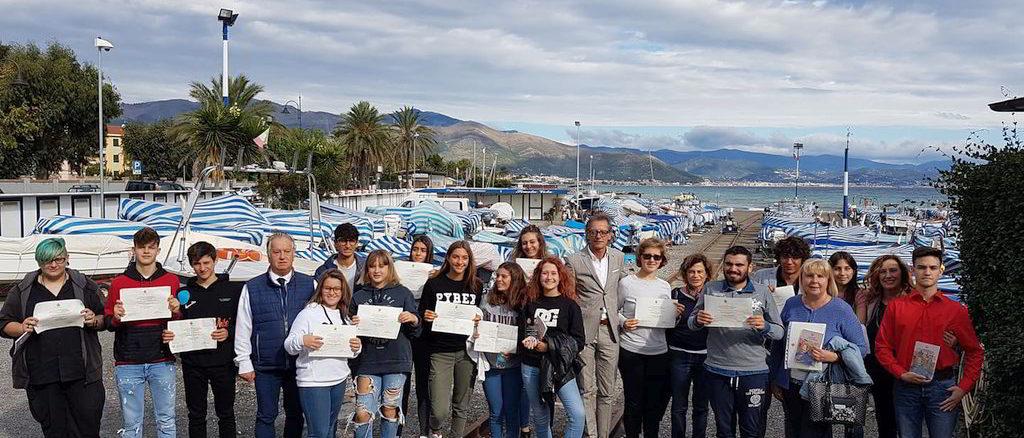 Premiazione I giovani e le tradizioni ad Albenga