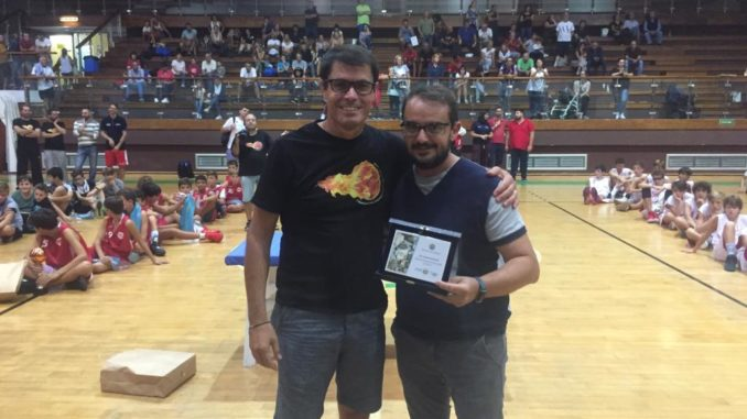 Premiato 'ex presidente del Basket Loano Garassini Marco Vignola