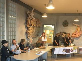 Presentazione a Borgio Verezzi dei corsi compagnia Barone Rampante