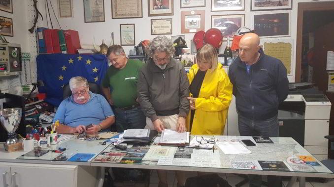 Una riunione Protezione civile ad Alassio
