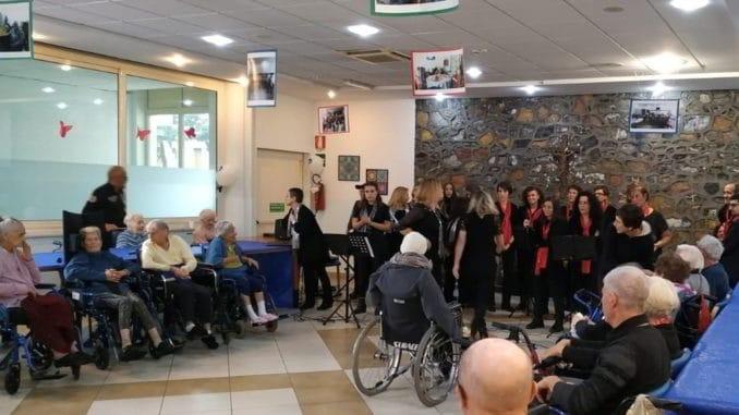 Concerto Gospel alla RSA Humanitas di Borghetto Santo Spirito