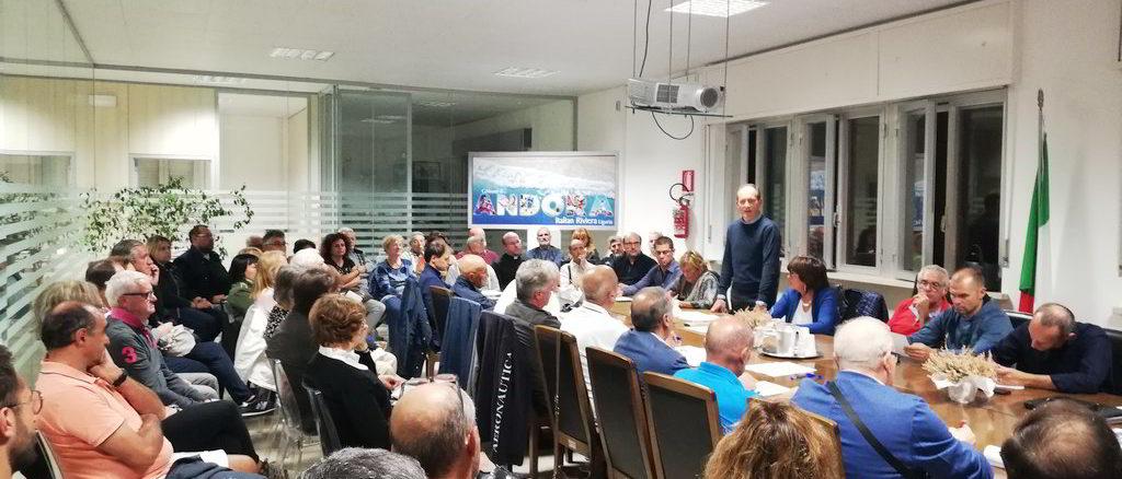 Riunione associazioni e amministrazione comunale ad Andora