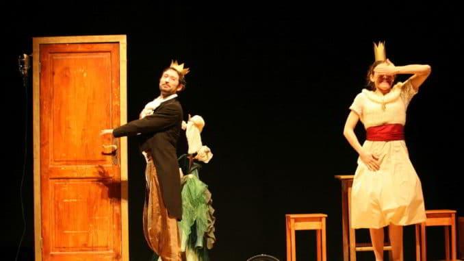 In scena Rosaspina de Il Teatro del Piccione