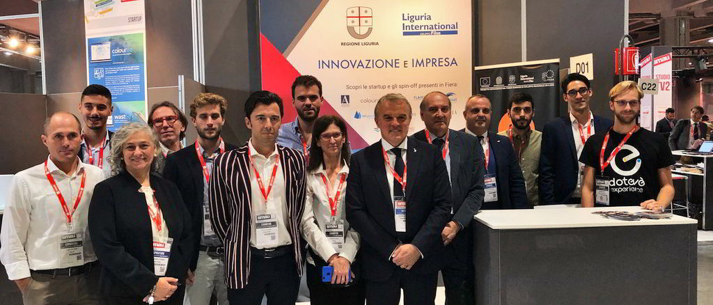 SMAU 2019 Regione Liguria e Startup liguri