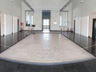 Sala del Mosaico in Palazzo Doria a Loano