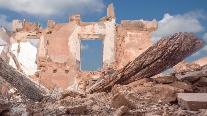 Scenari di guerra e distruzione