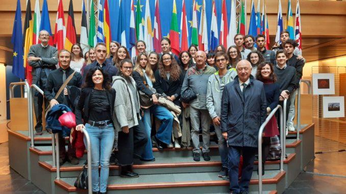 Studenti liguri al Parlamento europeo