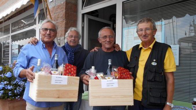 I vincitori a Varazze del XIII Trofeo Raccotagliata di pesca amatoriale
