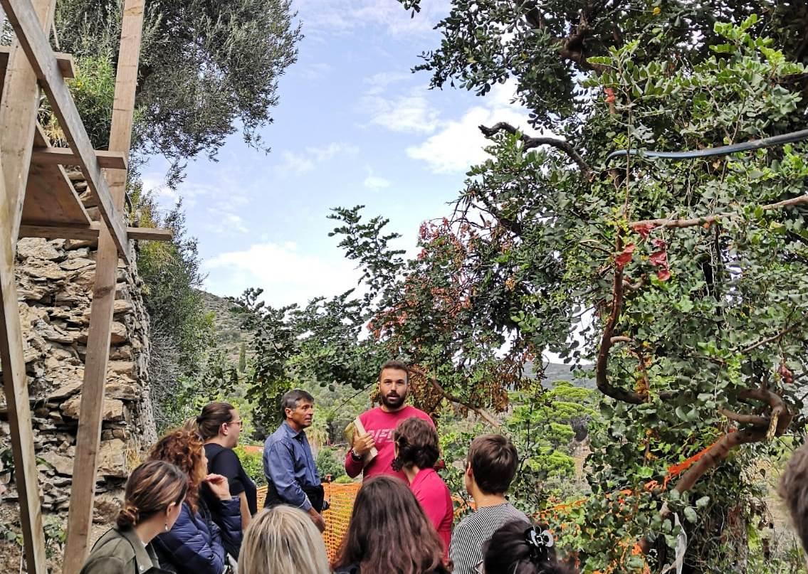 Visita Orto Rampante ad Alassio