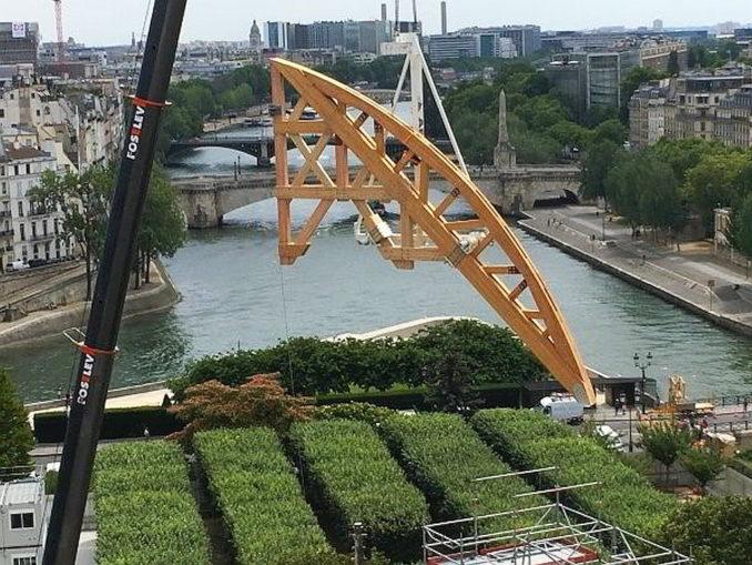 Vista da Notre Dame su ponti Senna