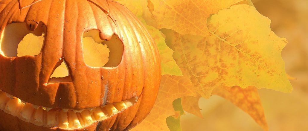 Zucca autunnale di Halloween