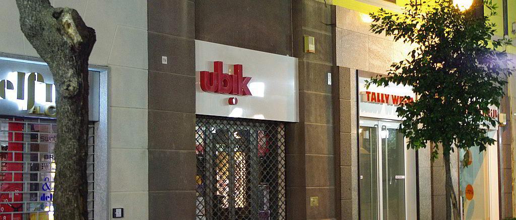 esterno Libreria Ubik di Savona