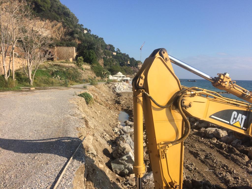 lavori messa in sicurezza massicciata SantAnna ad Alassio 04