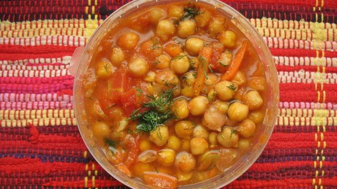 Una zuppa di ceci