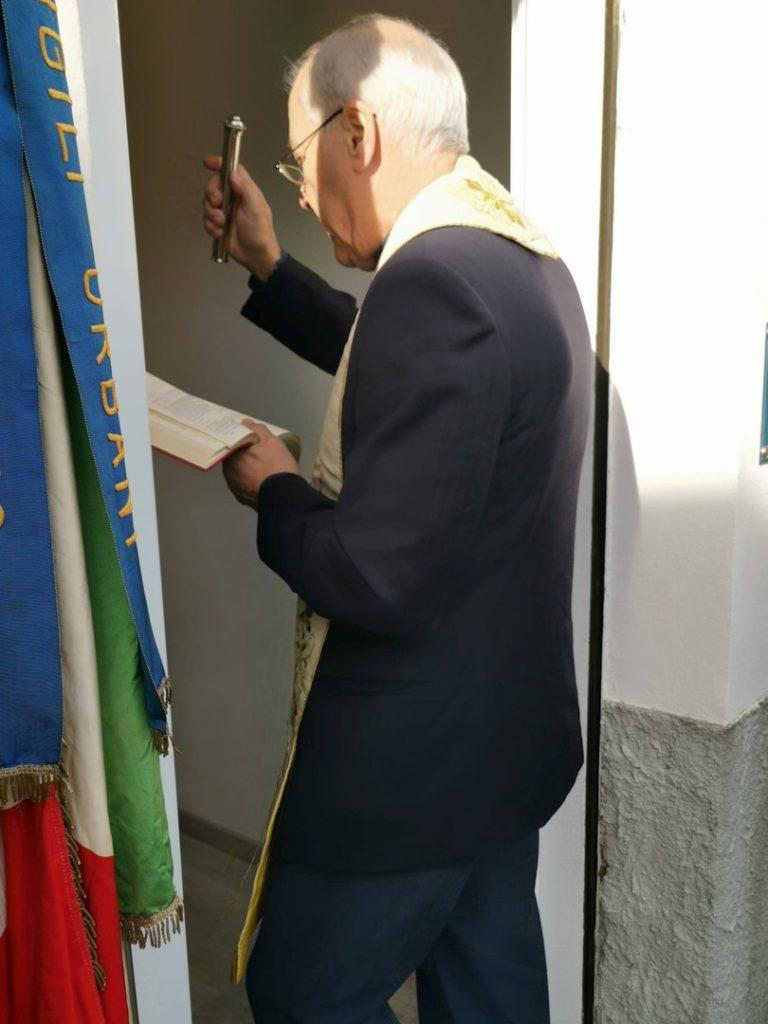 Alassio inaugurazione a Moglio ufficio Polizia locale 01