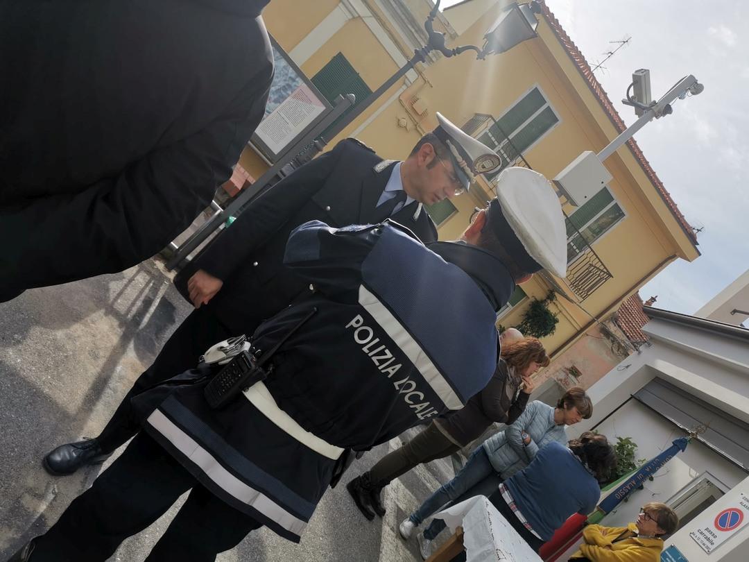 Alassio inaugurazione a Moglio ufficio Polizia locale 06