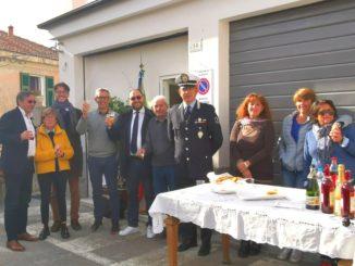 Alassio inaugurazione a Moglio ufficio Polizia locale