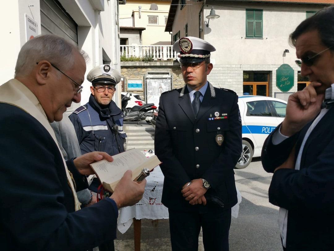 Alassio inaugurazione a Moglio ufficio Polizia locale 09