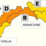 Pioggia e neve: stato d'Allerta in Liguria