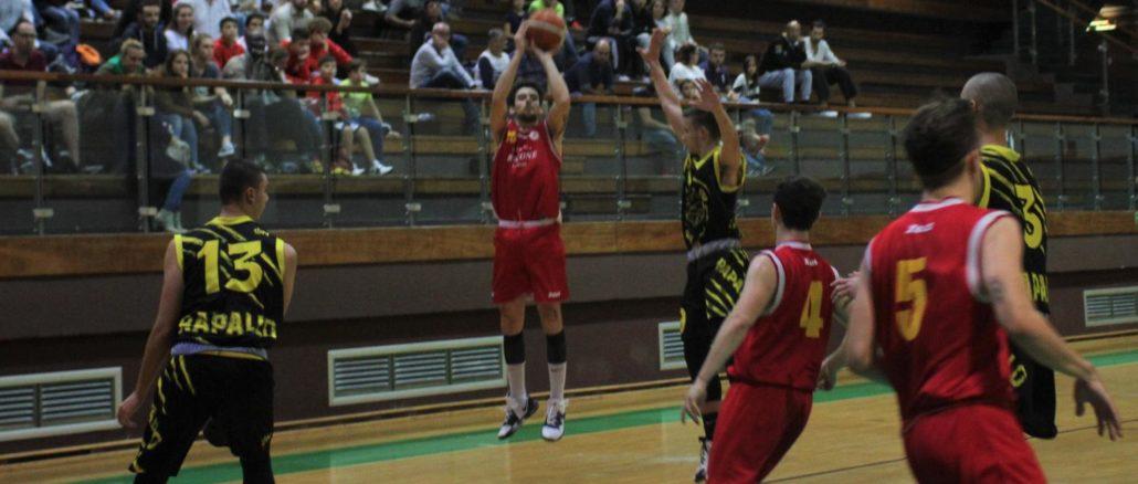 Basket Loano Garassini Bussone al tiro