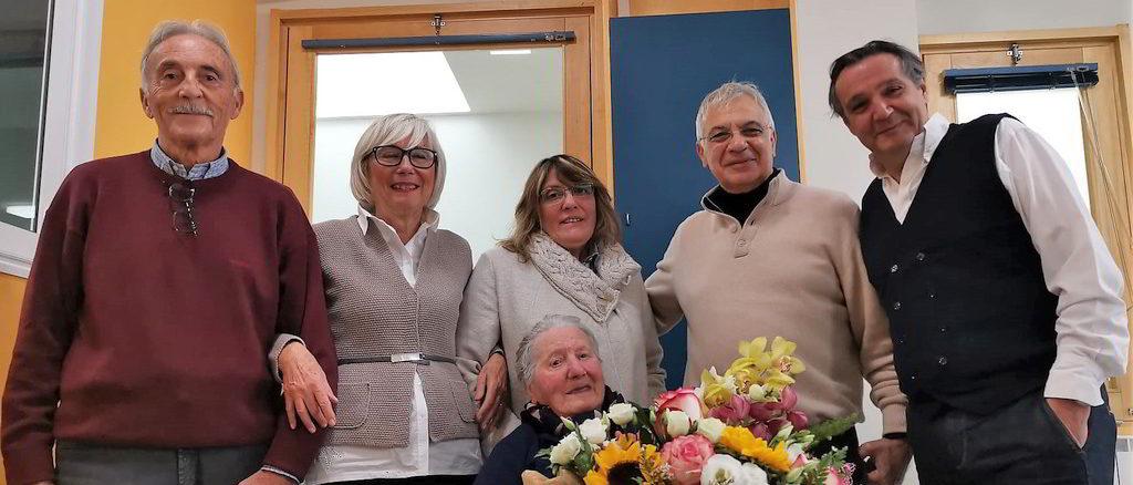 Benedetta Gravagno centenaria ad Alassio