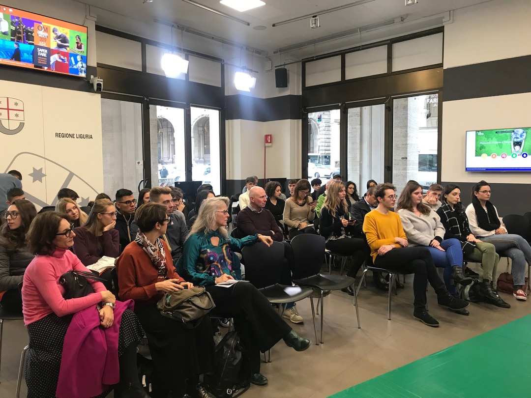 Career Day 2019 incontro Green Economy a Genova 01