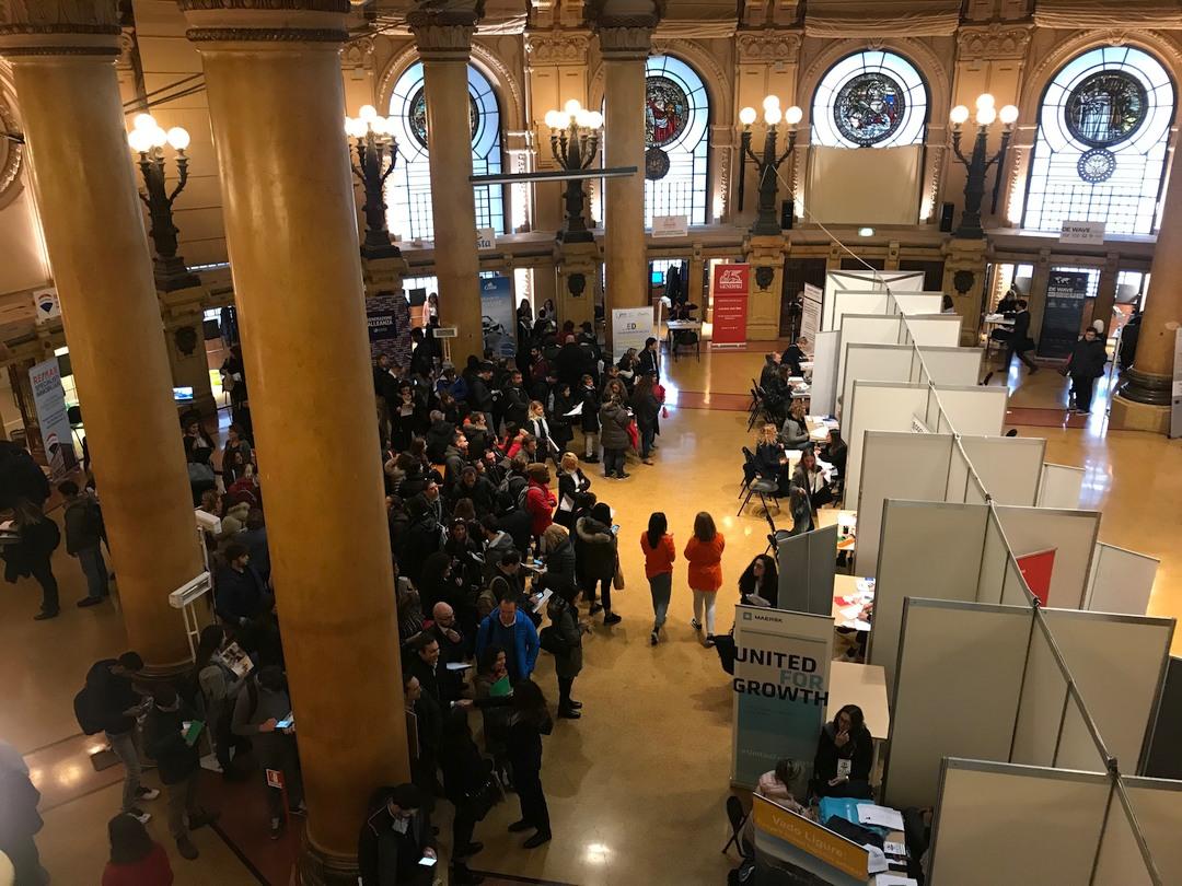 Career Day 2019 nel Palazzo della Borsa a Genova 01