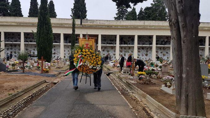Commemorazione defunti Cimitero di Leca ad Albenga
