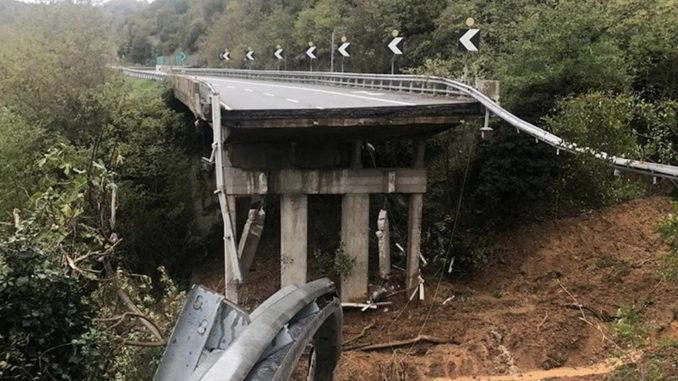 Crollo viadotto A6 Savona-Torino