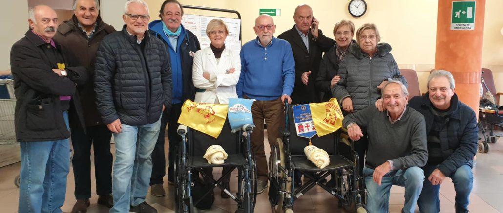 Donazione Istituto Trincheri di Albenga