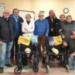 Albenga, una donazione per gli ospiti del Trincheri
