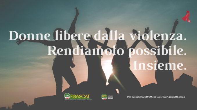 Fisascat Donne libere dalla violenza
