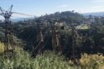 Funivie S.p.A., pilone stazione San Rocco inclinato 25nov19