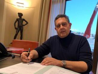 Giovanni Toti ufficio Regione Liguria