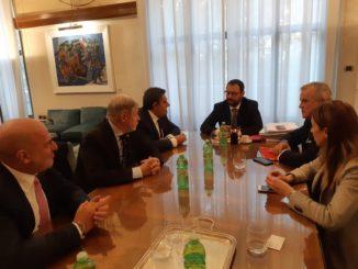 Incontro a Genova Toti Bucci Patuanelli