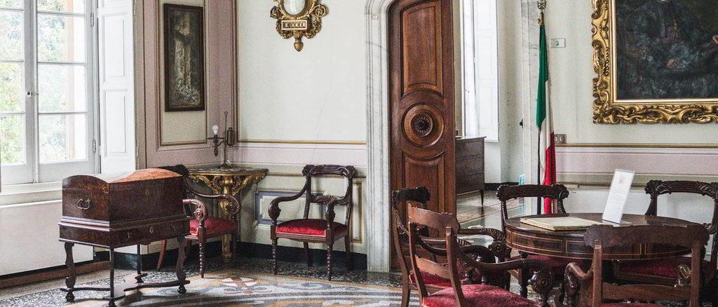 Interno di Villa Migone