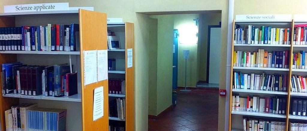 Interno della Biblioteca di Albenga