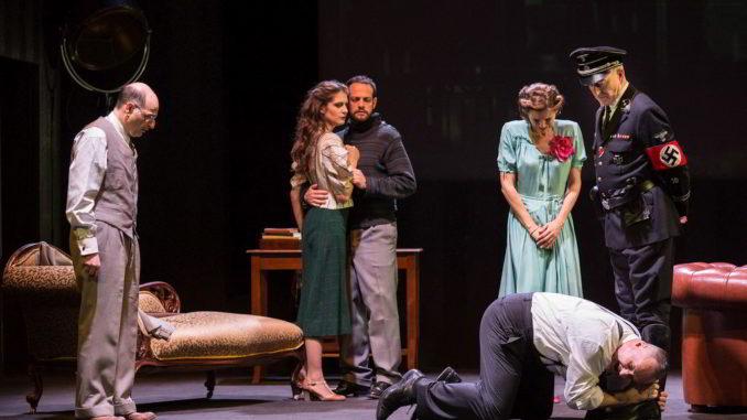 foto di scena dello spettacolo teatrale La Cena delle Belve