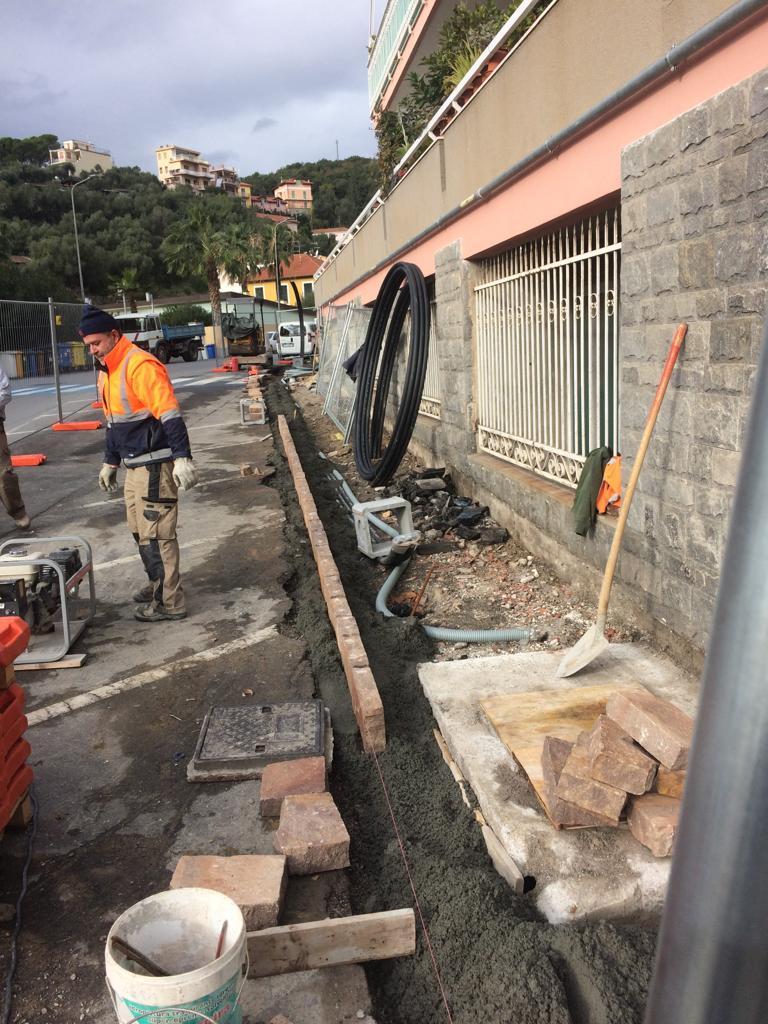 Lavori Alassio Barriere Architettoniche Via Gastaldi 01