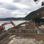 Cantieri aperti ad Alassio, lo stato dei lavori in corso
