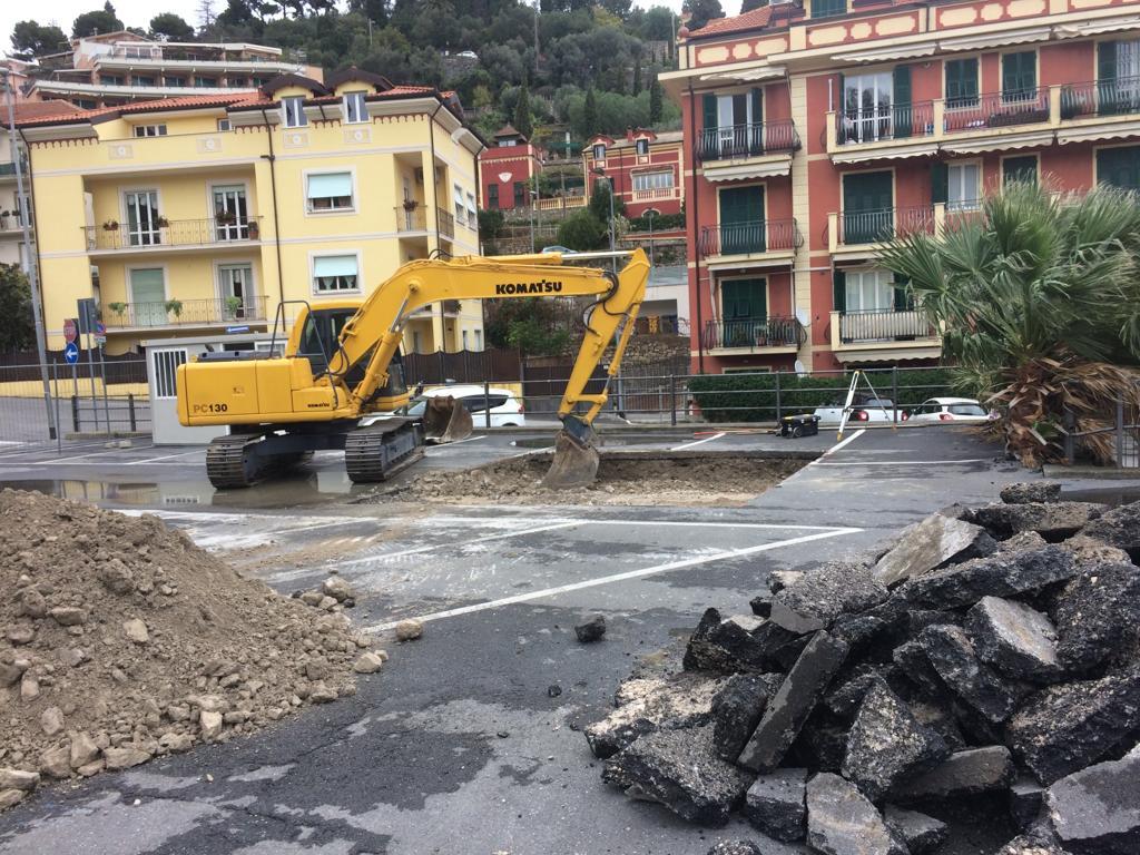 Lavori Alassio Pozzi via Pera 10