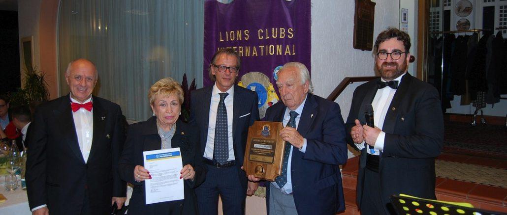 Lions club Albenga festeggia 50 anni